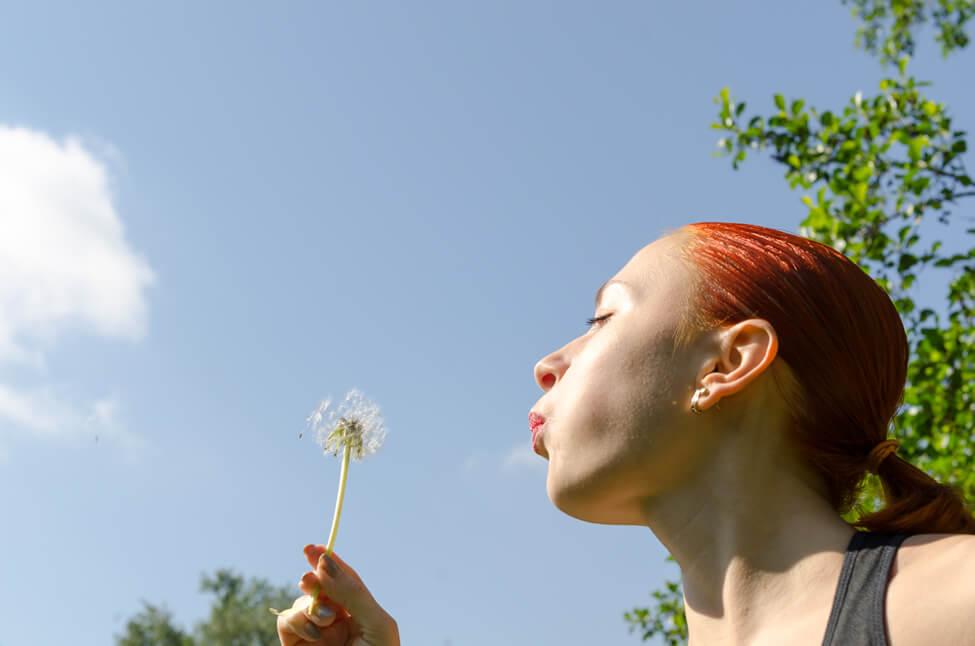 8 pasos para evitar la alergia primaveral